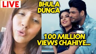 Shehnaaz Gill REQUESTS Fans For 100 MILLION Views In Bhula Dunga Song | Sidharth Shukla
