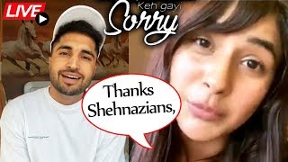 Shehnaaz & Jassi Gill Celebrates 'Keh Gayi Sorry' Song Success | Thanks Shehnazians, Sidnazians...