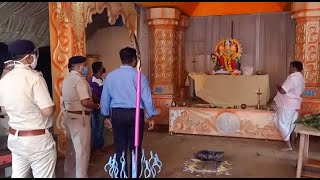 Mormugao police arrest four persons including a priest for illegally trying to install a Ganesh idol