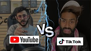 YOUTUBE AND TIK -TOK THE FIGHT | News Remind