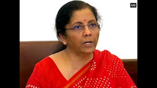 Covid-19 economic package: FM Nirmala Sitharaman to brief press at 4 pm today