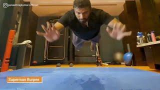 Puneethrajkumar Powerful video | Appu workout video goes viral