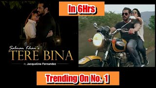 Tere Bina Song Trending No.1 In Just 6 Hours, Trollers Ki Bolti Band