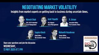 Negotiating Market Volatility | Back To Business - Webinar | Economic Times