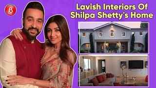 Lavish Interiors Of Shilpa Shetty & Raj Kundra's Palatial Mumbai Residence
