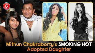 All You Need To Know Of Mithun Chakraborty's Adopted Daughter - The Smoking Hot Dishani Chakraborty