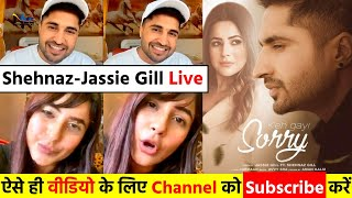 Jassie Gill ने जमकर की #Shehnaz Gill की तारीफ- Jassie Gill Live Video Chat with Shehnaz Gill