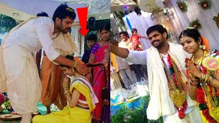 Comedy Actor Mahesh Marriage Video | Jabardasth fame Mahesh Wedding