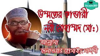 উম্মতের কান্ডারী নবী মোহাম্মদ (সা:) এর জীবনী । Bangla Waz mahfil   Allama Delwar Hossain Saidi