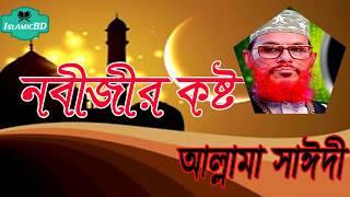 নবীজির কষ্টের কথা শুনুন সাঈদী সাহেবের ওয়াজটিতে । Allama Delwar Hossain Saidi | Bangla Waz Mahfil