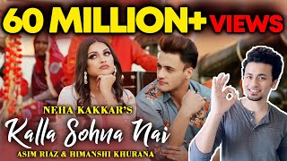 Kalla Sohna Nai Song Crosses 60 MILLION+ Views | Asim And Himanshi | Neha Kakkar