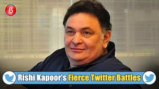 When Rishi Kapoor Furiously Burnt Trolls On Social Media With His Fierce Twitter Battles