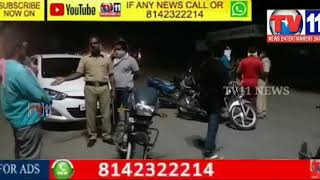 Warangal Mattewada police have taken into custody the vehicles which were unnecessarily asked by the