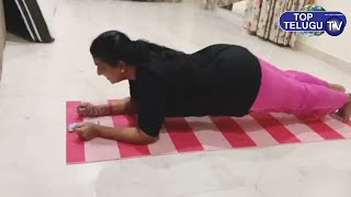 Jabardasth Show Roja Workout Video | Actress Today Gym Video | Top Telugu TV