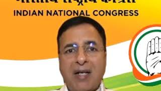COVID-19 | Randeep Singh Surjewala addresses media on Economic Stimulus Package