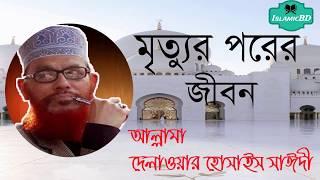 মৃত্যুর পরের জীবন নিয়ে সাঈদীর ওয়াজ মাহফিল । Bangla New Islamic Lecture | Allama Delwar Hossain Saidi