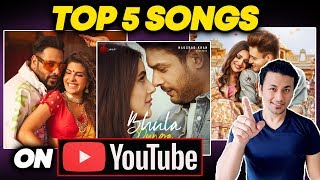 Top 5 Songs On Youtube In Lockdown | Bhula Dunga, Kalla Sohna Nai, Genda Phool