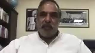 Anand Sharma addresses media via video conferencing on migrant labourers