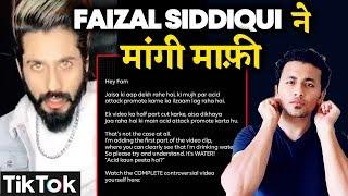 Tik Toker Faizal Siddiqui Shares An Apology Over His Latest Viral Video