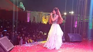 Dekhiye kavya krishnmurti ka live Holi program Kolkata me