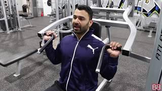 How to do Shoulder Press Machine! (Hindi / Punjabi)