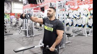 Beginners Front Dumbbell  Raises Exercise! (Hindi / Punjabi)