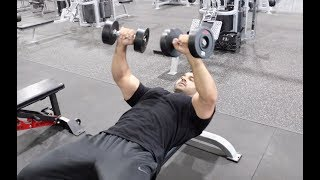 Dumbbell Press to GROW CHEST MUSCLES! (Hindi / Punjabi)