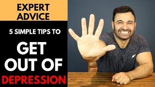 Simple steps to GET OUT OF DEPRESSION! (Hindi / Punjabi)