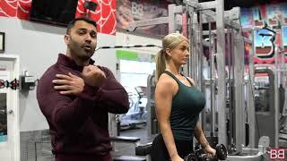 Arm Toning Exercise, HAMMER CURLS! (Hindi / Punjabi)