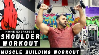 Complete SHOULDERS Home Workout! (Hindi / Punjabi)