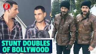Salman Khan To Akshay Kumar - Here Are Bollywood Star's Famous Body Doubles For Dangerous Stunts