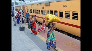 Lockdown crisis: MHA asks states to operate more special trains to transport migrant workers