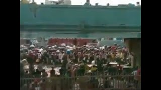 Migrants crisis: Hundreds of workers gather near Bandra station in Mumbai