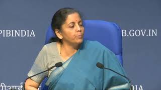 FM Nirmala Sitharaman announces the final tranche of stimulus package under AatmanirbharBharat