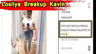 LOSLIYA KAVIN LOVE BREAKUP | Loslkya | Kavin | Bigg Boss | BreakUp | kavin Army | Losliya Army |Love