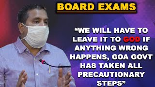 Exams: We will have to leave it to god if anything wrong happens- Ex MLA Sidharth Kuncalienkar