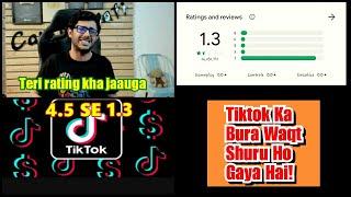 Tiktok Ka Bura Waqt Shuru Ho Gaya Hai, Tiktok Ratings Down