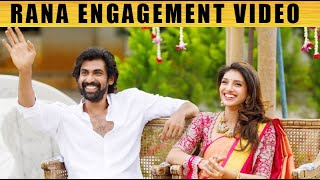 Rana Daggubati engagement video | And it's official ! !