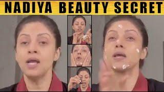 இது தான் காரணமா? நதியாவின் அழகு ரகசியம்   Nadiya giving night skin care beauty tips