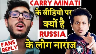 Carry Minati's Video Flooded With Russian Comments; Here's Why   REAL TRUTH   Youtuber Vs Tik Toker
