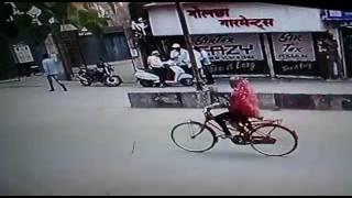 Raipur CCTV Footage :  असुरक्षित रायपुर !