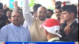 INH News -  राष्ट्रपति चुनाव - रामनाथ कोविंद ने रायपुर में बीजेपी सांसदों-विधायकों से की मुलाकात