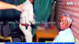 INH Exclusive :  'ऑन ड्यूटी' रायपुर पुलिस की दारू महफिल !