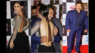Salman Khan's AWKWARD HUG To Sana Khan
