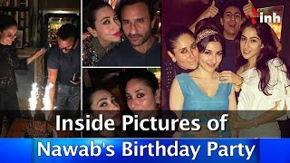 Saif Ali Khan Rings in His Birthday With Family
