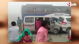 Delhi NCR Road Accident: देखें यमुना एक्सप्रेस-वे पर एक के बाद एक कैसे भिड़ीं 18 गाड़ियां