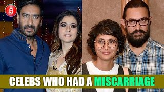 Ajay Devgn-Kajol To Aamir Khan-Kiran Rao - Celebs Who Had A Terrible Miscarriage