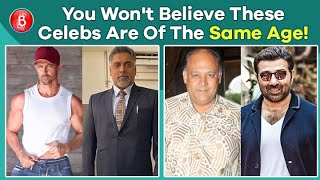 Hrithik Roshan-Ram Kapoor To Sunny Deol-Alok Nath - Actors Of The Same Age, But Look Ages Apart