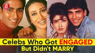 Akshay-Raveena To Abhishek-Karisma - Celebs Who Got Engaged But Didn't Marry