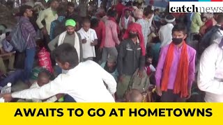 Migrant Labourers Gather In Jalandhar, Awaits To Go At Hometowns | Catch News